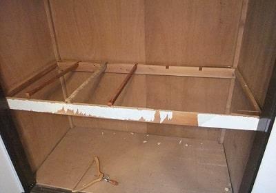 押し入れの上段の重さはどれくらい耐えれられる?注意すべきことは?